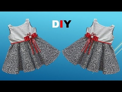 Diy Beautiful Baby Frock Cutting And Stitching Full Tutorial