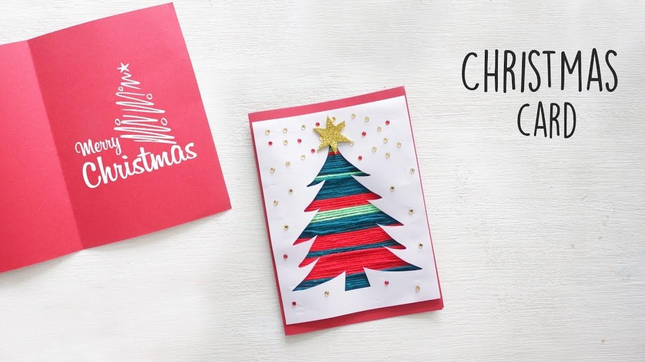 DIY Christmas Card | DIY Holiday Card Ideas