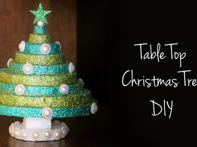 DIY Christmas Decorations | Table Top Christmas Tree | X-mas Tree