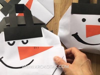 DIY CHRISTMAS PAPER BAG