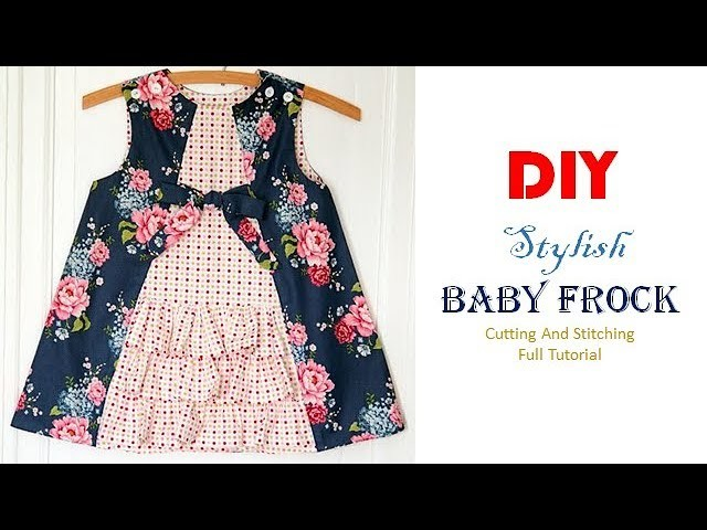 DIY Designer Baby Zabla For 1 Year Baby Girl Full Tutorial