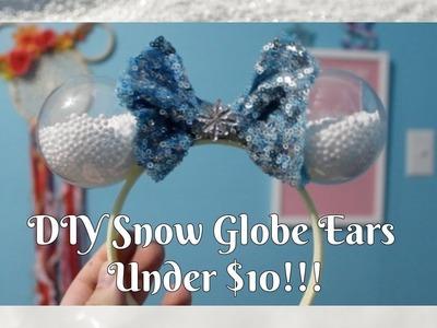 DIY Dollar Tree Snow Globe Ears!