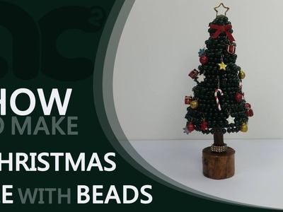 DIY : How To Make a Christmas Tree With Beads | Home Decor