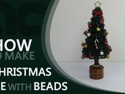 DIY : How To Make a Christmas Tree With Beads | Home Decor