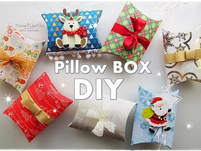 DIY How to Make a Pillow Box Gift Packaging Tutorial ♡ Maremi's Small Art ♡