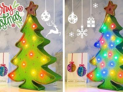 ✨???? DIY: LED Christmas Tree  (Cheap and Easy) ????✨