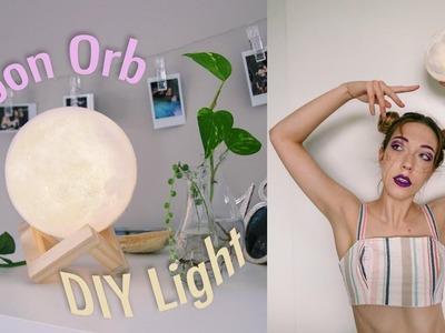DIY Moon Orb Lamp ✦ Natasha Rose