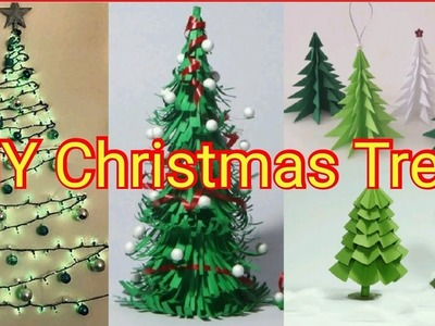 DIY Paper Christmas Tree Crafts 2018 | How To Make Your Own Desk xmas Tree 2018