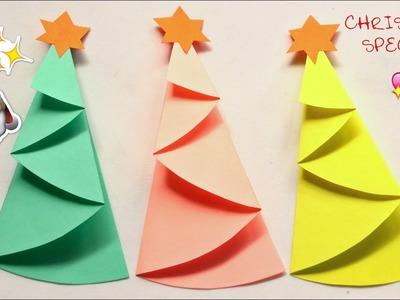 DIY PAPER CHRISTMAS TREE | Christmas Special