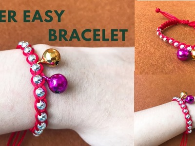 DIY - Super Easy   SHAMBALlA MACRAME BRACELET Tutorial Making at Home with Your Own Beads