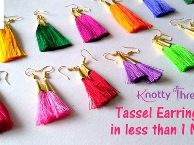 Earrings Diy With Hoop Earrings Tassel Hoop Earrings Thread