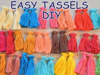 DIY Tutorial How to Make a Tassel