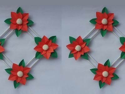 DIY: Wall Hanging Idea!!! How to Make Paper Wall Hanging for Home Decoration. Christmas Decoration!!