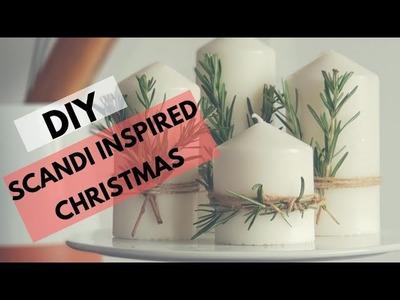 EASY DIY IDEAS - Scandinavian Christmas Decor || Advent