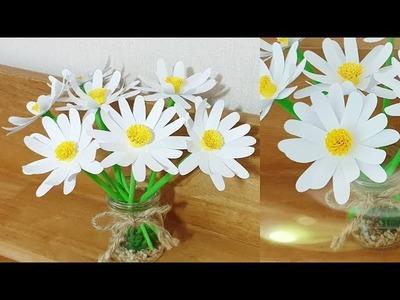 Easy Paper Flowers - DIY Handmade Decoration - Room Decor Paper Crafts