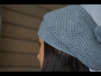How to crochet a Beret ||  Right hand