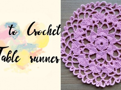 How to Crochet a Table Runner (4)