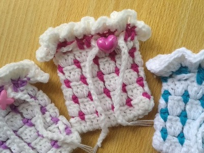 How to Crochet Block Stitch in Rounds