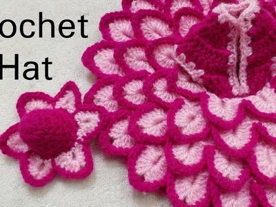 How to Crochet Cap for for Laddu Gopal. Kanhaji for Dress no. #47 (all sizes)
