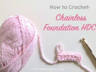 How to Crochet: Chainless Foundation HDC || Step-by-Step Crochet Tutorial + FREE COWL PATTERN!