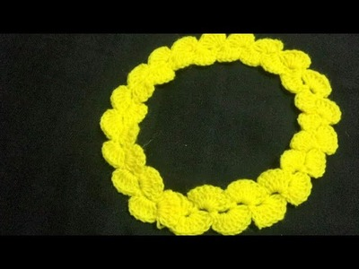 How to crochet lace.very easy crosia lace.
