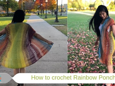 How to crochet : Poncho