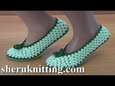 How to DoCrochet Socks  Tutorial 295