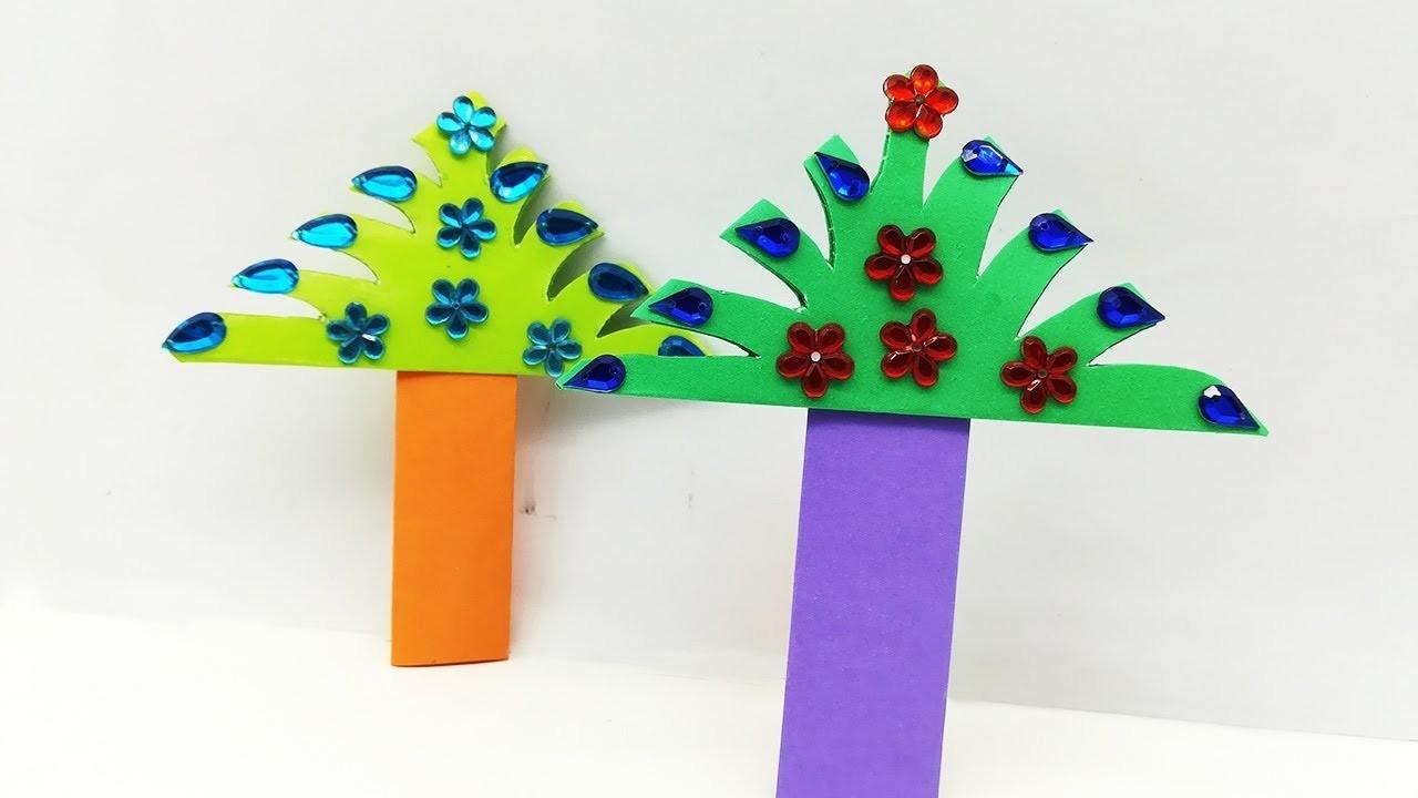 How to Make Beautiful Paper Tree For Christmas Mood | Diy Christmas Tree Craft Ideas Tutorial