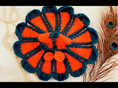 How to Make Beautiful Vibrant Flower Crochet Dress for Kanhaji. Laddu Gopal. Bal Gopal