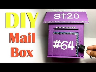 How to Make Creative Paper Mailbox For Your Home - DIY Paper Crafts