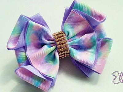 Laço Mallika II ???? Ribbon Bow Tutorial ???? DIY by Elysia Handmade