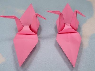 Origami Paper Crane | How to Make a Paper Crane | DIY Paper Crafts Ideas