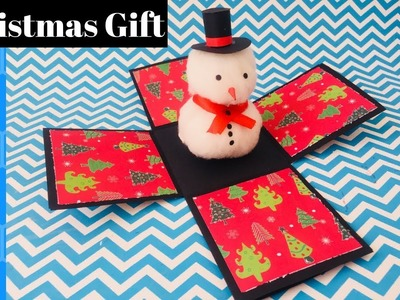 Surprise Box For Christmas | DIY Explosion Box | Christmas Gift