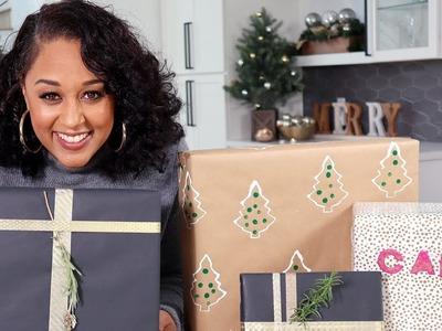 Tia Mowry's DIY Gift Wrap 3 Ways | Quick Fix