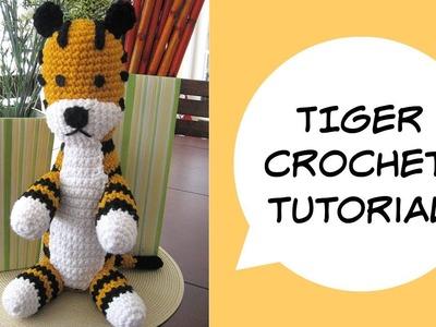 Tiger Amigurumi Tutorial | Hobbes crochet inspired | Free Pattern