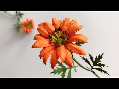 ABC TV | How To Make Paper Flower #5 | Flower Die Cuts - Craft Tutorial