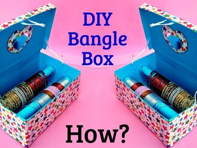 Bangle Box making at home.Best out of Waste. DIY Craft