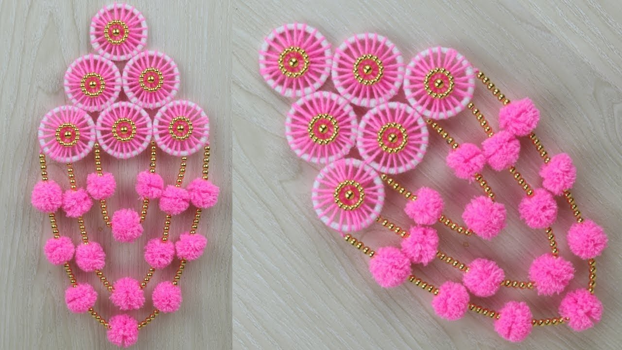 Beads Best Out Of Waste Woolen Craft Ideas Awesome Door