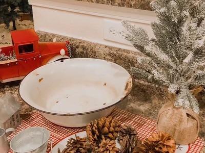 CHRISTMAS FARMHOUSE DECOR PART TWO!