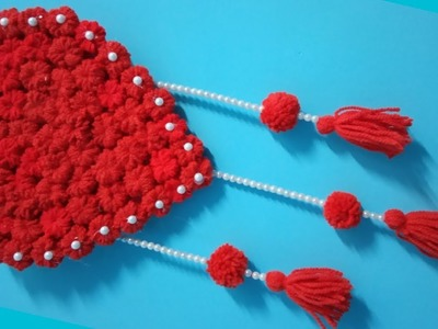 Diy heart wall hanging||craft ideas diy||handicraft wall hanging ideas||wall hanger||