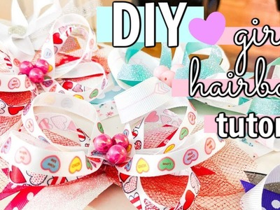 ????✨ DIY || HOW TO MAKE CUTE HAIRBOWS FOR GIRLS