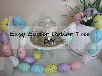 DOLLAR TREE DIY. EASTER DIY.