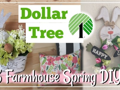 Dollar Tree DIY Spring & Easter Farmhouse Decor | Momma From Scratch