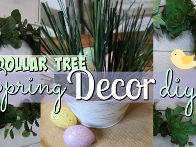 DOLLAR TREE SPRING DIY'S. DOLLAR TREE SPRING DECOR IDEAS