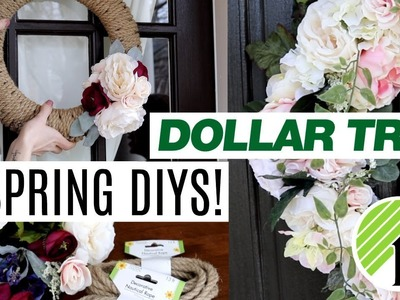 EASY DOLLAR TREE & WALMART SPRING DIYS! ???? Buy ALL the flowers!