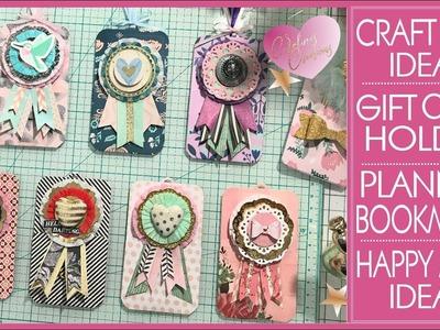 Gift Card Holder - Planner Sticker Holder Bookmark  - Spring Craft Fair Ideas - Happy Mail Ideas