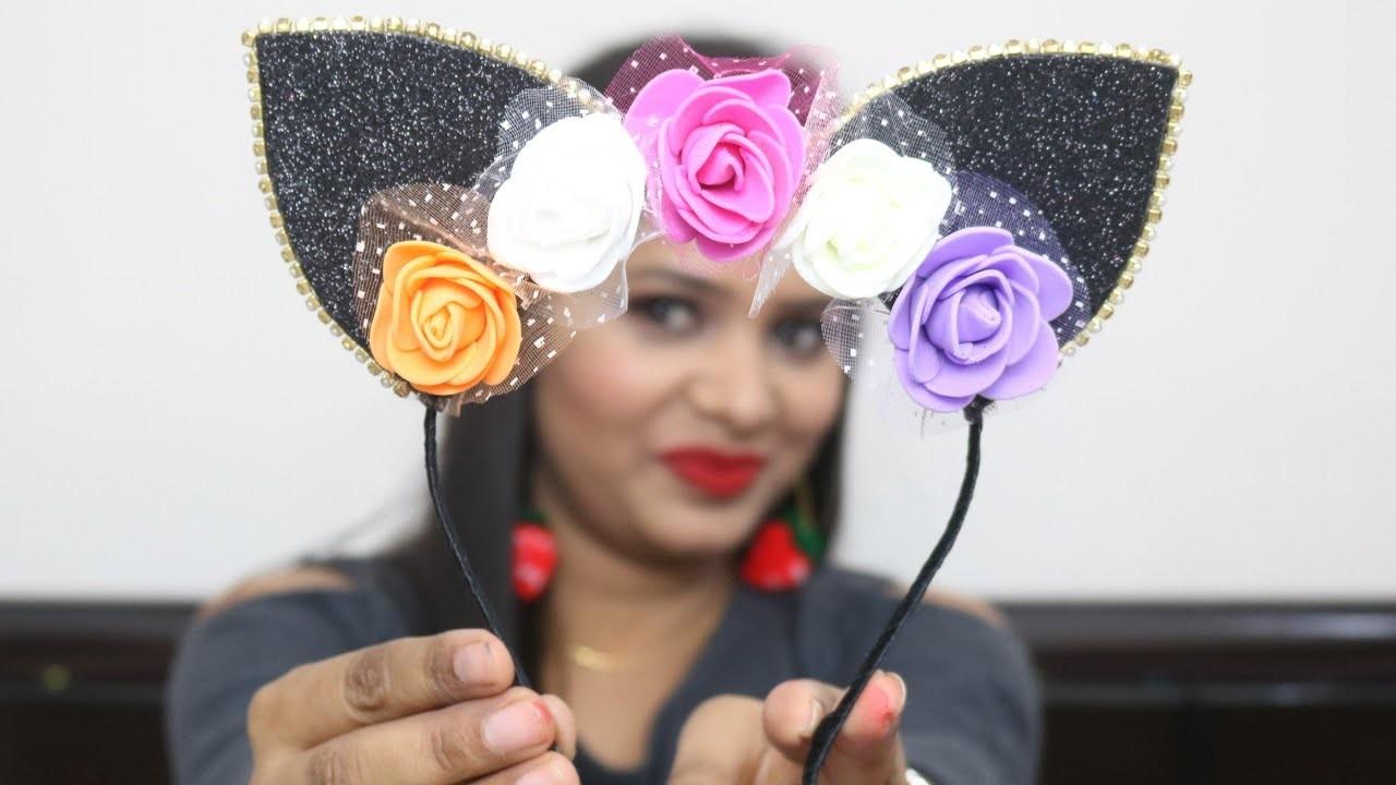 Handmade Cute Headband Making from foam sheet| Baby Headband tutorials| Foam craft for kids