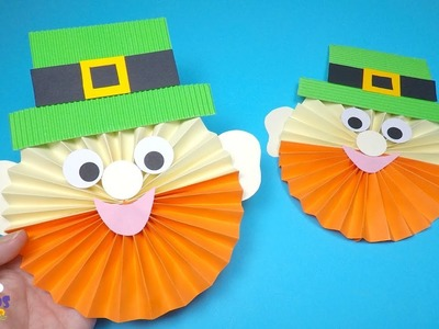 How to Make a Paper Leprechaun | St Patrick's Day Craft