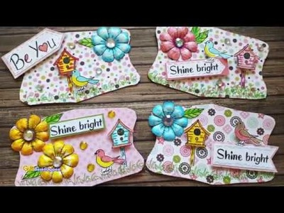 Kleenex Box Tops to Spring Embellishments Part 1 of 2