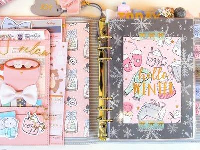 My Winter Work Planner Setup 2019! (Kikki K Soft Pink A5)